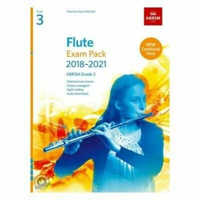 ABRSM Flute Exam Pack Grade 3 2018-2021