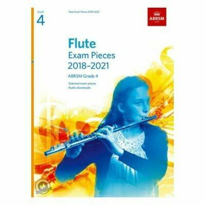 ABRSM Flute Exam Pieces Grade 4 2018-2021