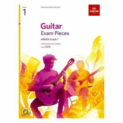 ABRSM Guitar Exam Pieces From 2019 - Grade 1 (Book Only)