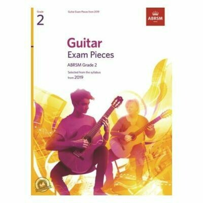 ABRSM Guitar Exam Pieces From 2019 - Grade 2 (Book Only)