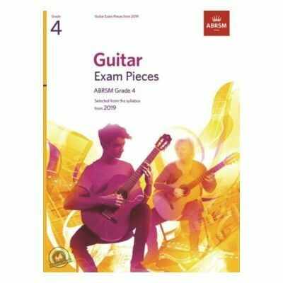 ABRSM Guitar Exam Pieces From 2019 - Grade 4 (Book Only)