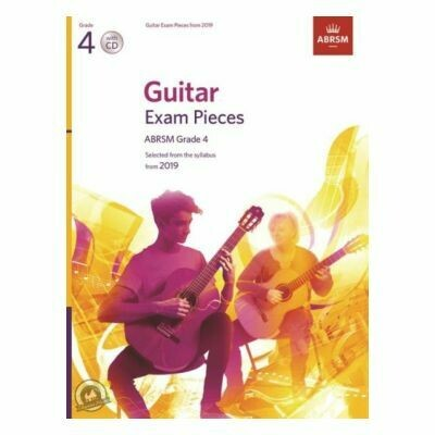 ABRSM Guitar Exam Pieces From 2019 - Grade 4 (Book with CD)