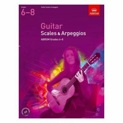 ABRSM Guitar Scales and Arpeggios, Grades 6-8