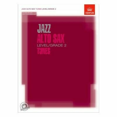 ABRSM Jazz Alto Sax Level/Grade 2 Tunes (Book with CD)