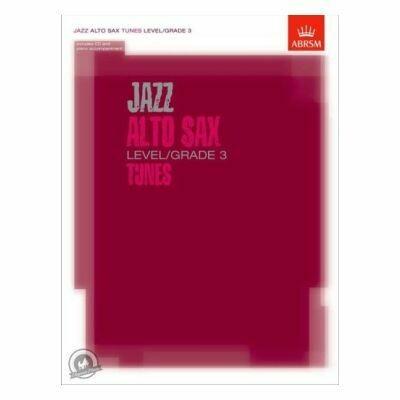 ABRSM Jazz Alto Sax Level/Grade 3 Tunes (Book with CD)