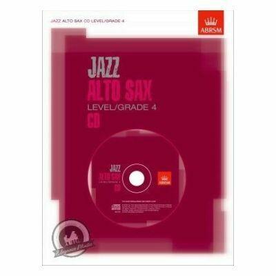 ABRSM Jazz: Alto Sax Level/Grade 4 (CD)