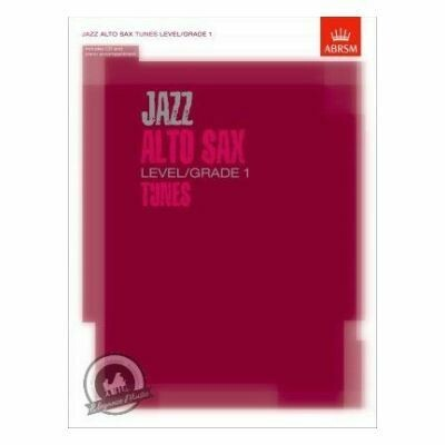 ABRSM: Jazz Alto Sax Tunes Level/Grade 1 (Book/CD)