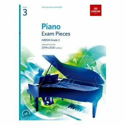 ABRSM Piano Exam Pieces 2019 and 2020 - Grade 3 (Book Only)