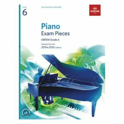 ABRSM Piano Exam Pieces 2019 and 2020 - Grade 6 (Book Only)