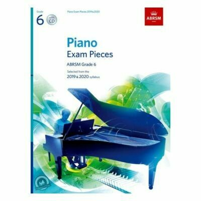 ABRSM Piano Exam Pieces 2019 and 2020 - Grade 6 (Book with CD)