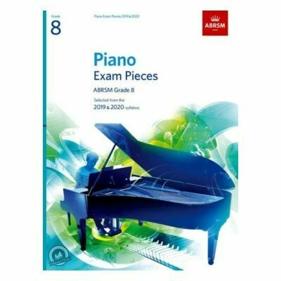 ABRSM Piano Exam Pieces 2019 and 2020 - Grade 8 (Book Only)