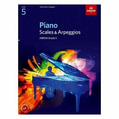 ABRSM Piano Scales & Arpeggios, Grade 5