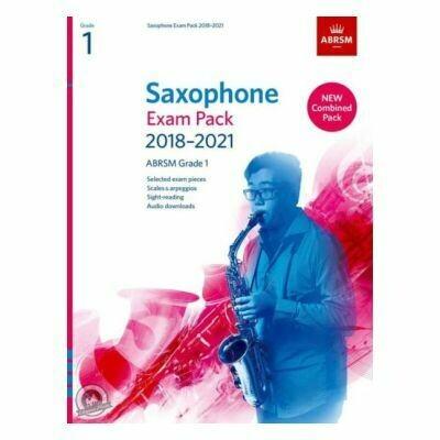 ABRSM Saxophone Exam Pack Grade 1 2018-2021