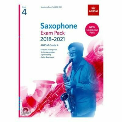 ABRSM Saxophone Exam Pack Grade 4 2018-2021