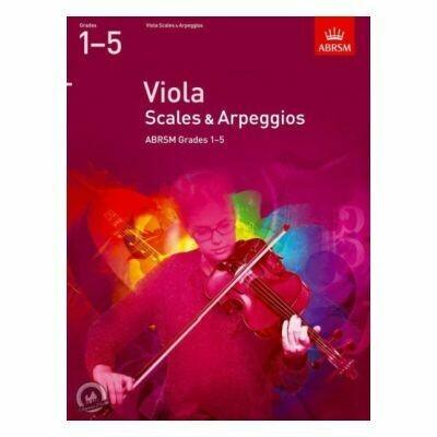 ABRSM Viola Scales & Arpeggios Grades 1-5 (from 2012)