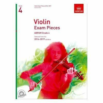 ABRSM Violin Exam Pieces 2016-2019 Grade 4 (Book with Part)
