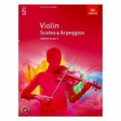 ABRSM Violin Scales & Arpeggios Grade 5 (from 2012)