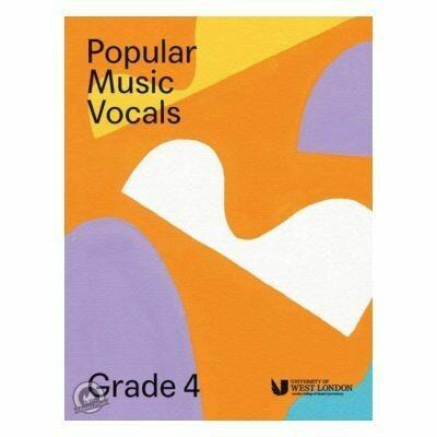 LCM Popular Music Vocals - Grade 4