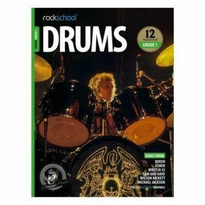 Rockschool: Drums Grade 1 2018+ (Book/Audio)