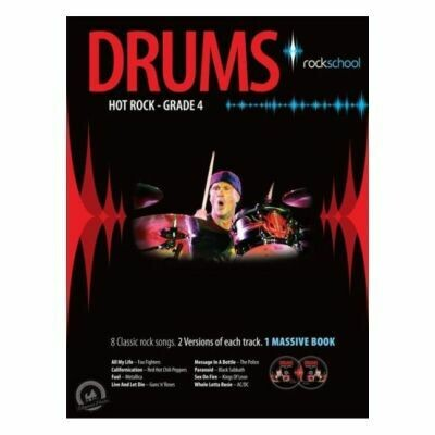 Rockschool Hot Rock Drums - Grade 4