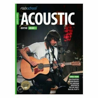 Rockschool Acoustic Guitar - Grade 3 (2016)