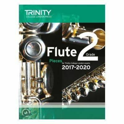 Trinity Flute Exam Pieces Grade 2, 2017-2020 (Score & Part)