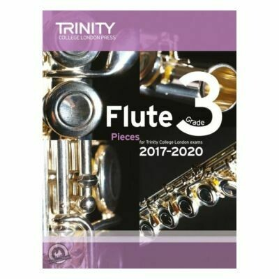 Trinity Flute Exam Pieces Grade 3, 2017-2020 (Score & Part)