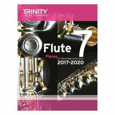 Trinity Flute Exam Pieces Grade 7, 2017-2020 (Score & Part)