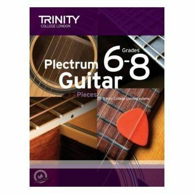 Trinity Plectrum Guitar Pieces Grades 6-8