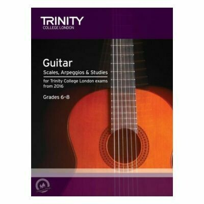 Trinity Guitar and Plectrum Guitar Scales, Arpeggios Grades 6-8