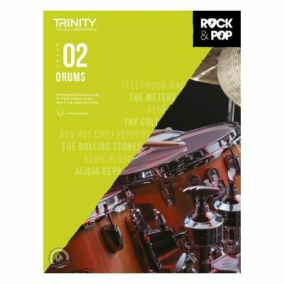Trinity Rock and Pop 2018 -20 Drums Grade 2 (with Online Audio)