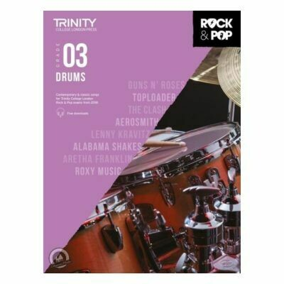 Trinity Rock and Pop 2018 -20 Drums Grade 3 (with Online Audio)