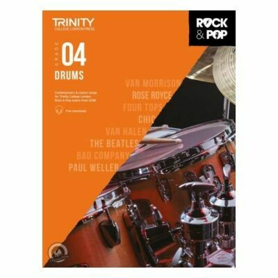 Trinity Rock and Pop 2018 -20 Drums Grade 4 (with Online Audio)