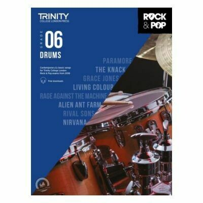 Trinity Rock and Pop 2018 -20 Drums Grade 6 (with Online Audio)