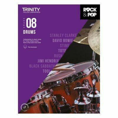 Trinity Rock and Pop 2018 -20 Drums Grade 8 (with Online Audio)