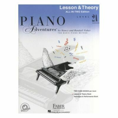 Piano Adventures All In Two Level 2A - Lesson & Theory