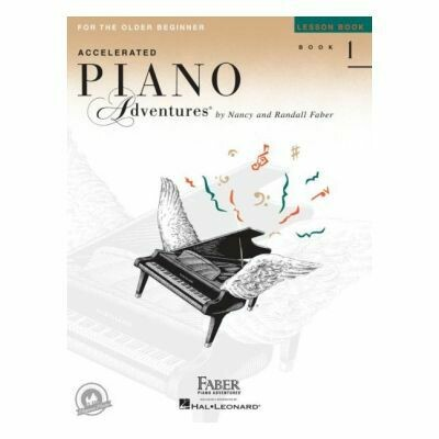 Piano Adventures for the Older Beginner - Lesson Book 1