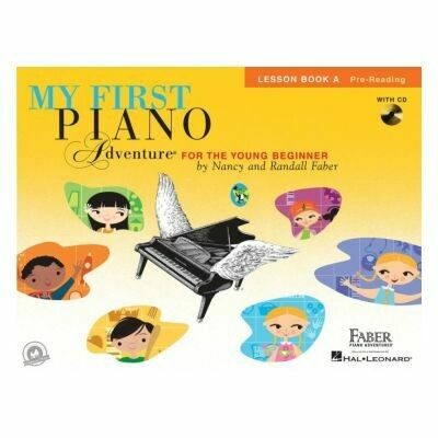 My First Piano Adventure - Lesson Book A (with CD)