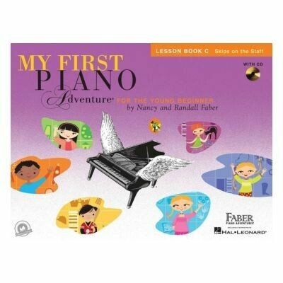My First Piano Adventure - Lesson Book C (with CD)