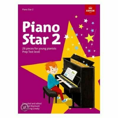 Piano Star Book 2: Prep Test Level