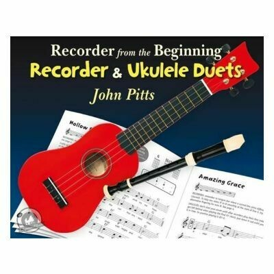 Recorder From The Beginning - Recorder And Ukulele Duets (Book Online Audio)