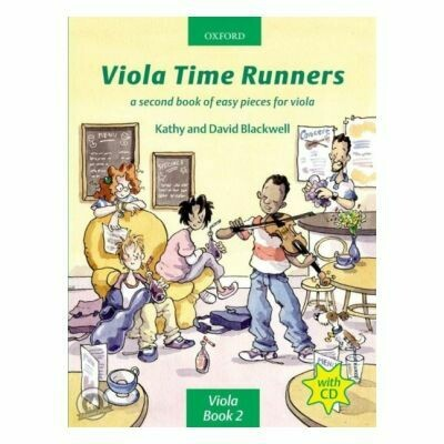Viola Time Runners 2 (with CD)