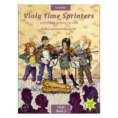 Viola Time Sprinters (with CD)