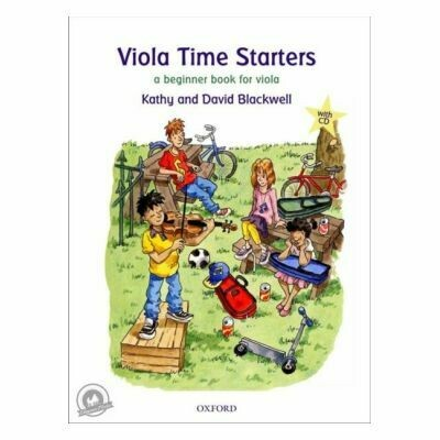Viola Time Starters (with CD)