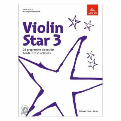 Violin Star 3, Accompaniment book (Book Only)