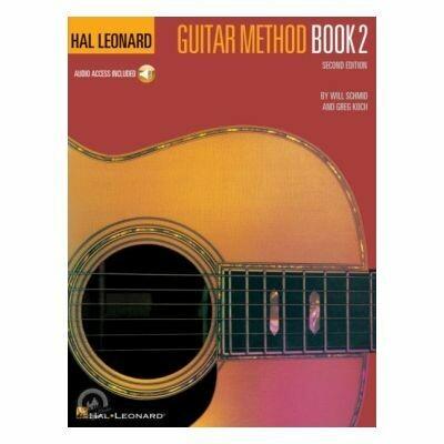 Hal Leonard Guitar Method Book 2 Second Edition (with CD)
