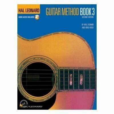 Hal Leonard Guitar Method Book 3 with Online Audio