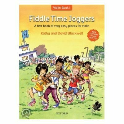 Fiddle Time Joggers - Revised Edition (with CD)