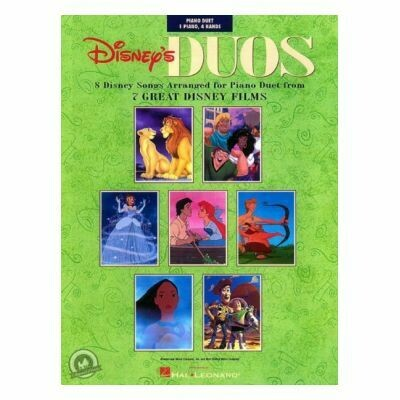 Disney's Duos: 8 Disney Songs Arranged For Piano Duet