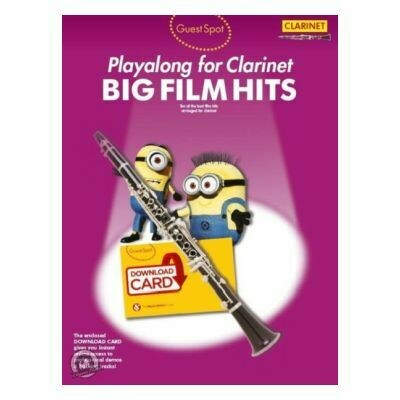 Guest Spot - Big Film Hits Playalong For Clarinet